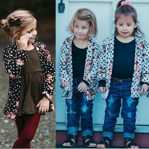 Baby Girls Warm Coat Toddler Jacket Cardigan US