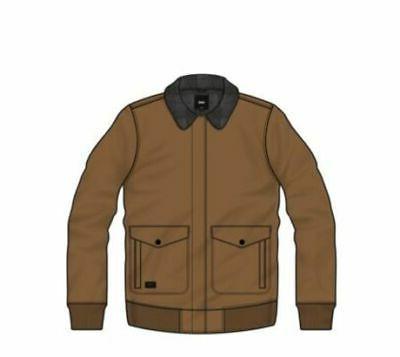 belden jacket men s rubber large