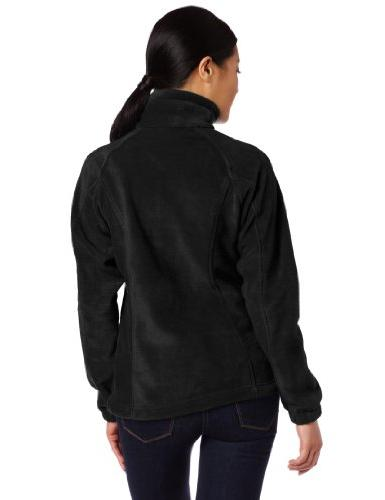 Columbia Benton Full Zip Black, Large