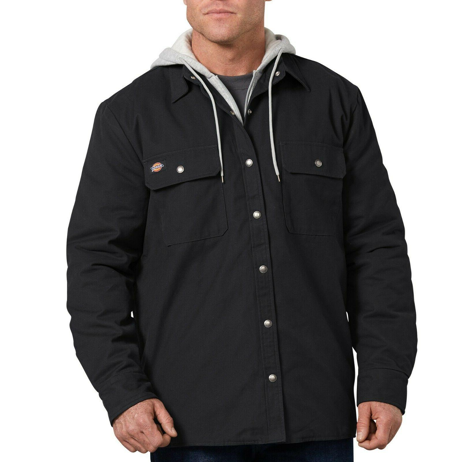 big and tall men heavy shirt jacket