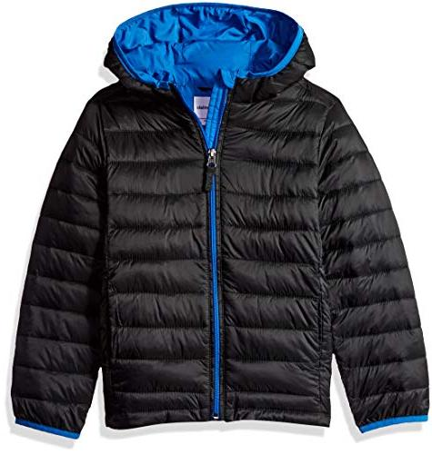 big boys lightweight water resistant packable hooded