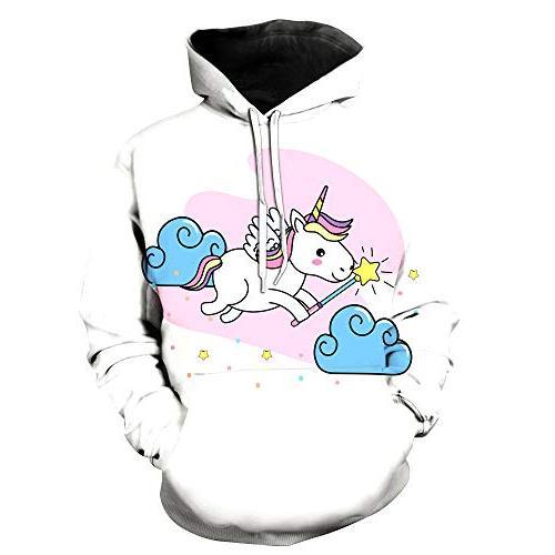 GLUDEAR Unicorn Teen Over Cloud,XL