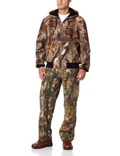 big tall thermal lined camo
