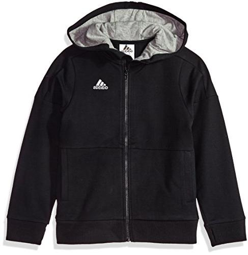 boys big athletics jacket black l 14