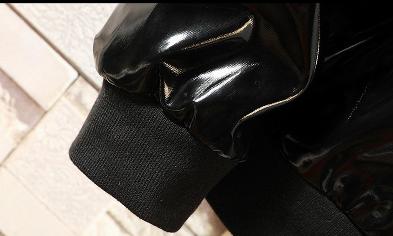 Boy's Men's Fashion Leatherette Coats Shiny new
