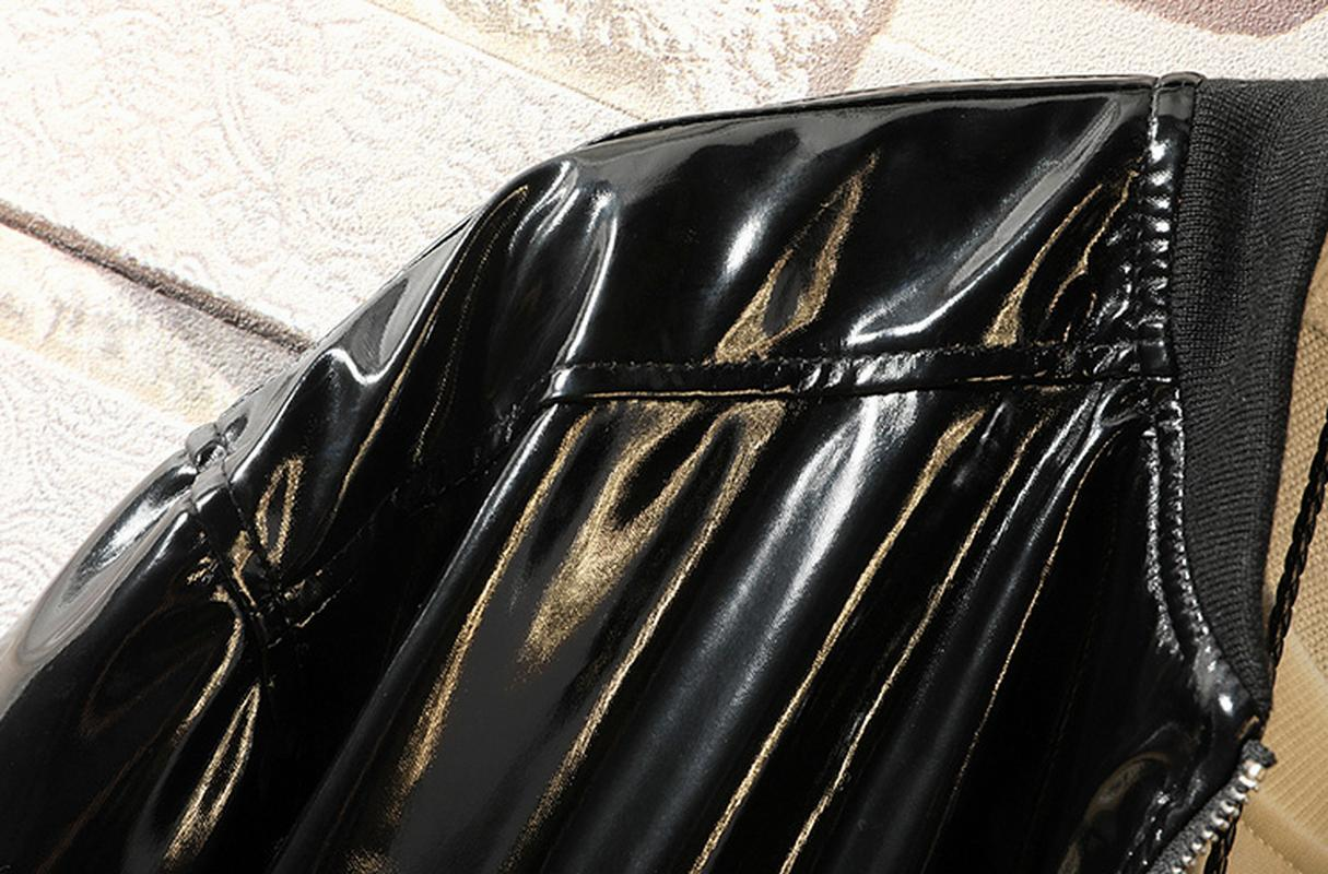 Boy's Leatherette Leather Coats Shiny M-4XL new
