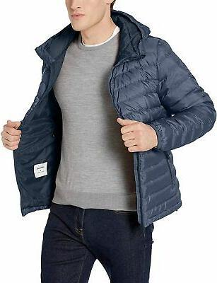 Brand Goodthreads Down Jacket with Denim Size