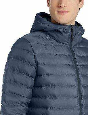 Brand Down Hood, Denim Size Large