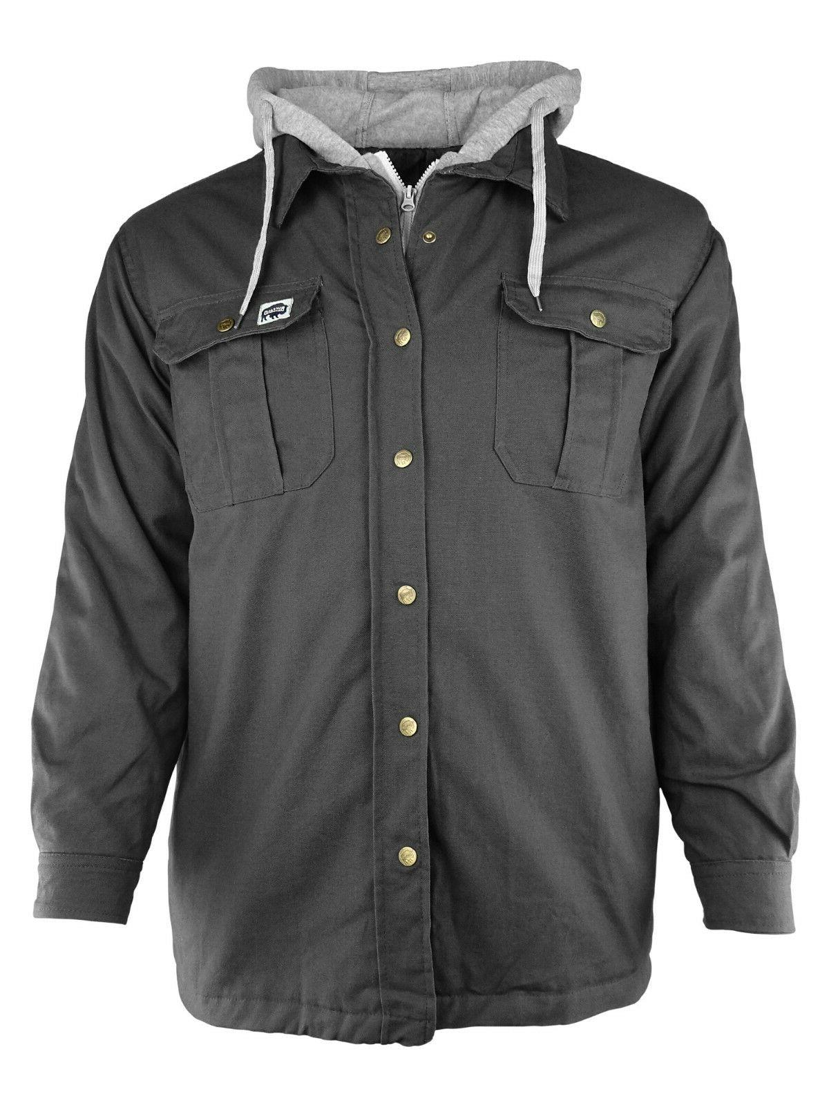 Canvas Work Black, Brown or Gray Men's M-3XL by Outdoors