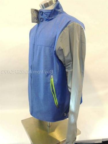 UNDER Chess-O-Peake UA Storm Gear Jacket New