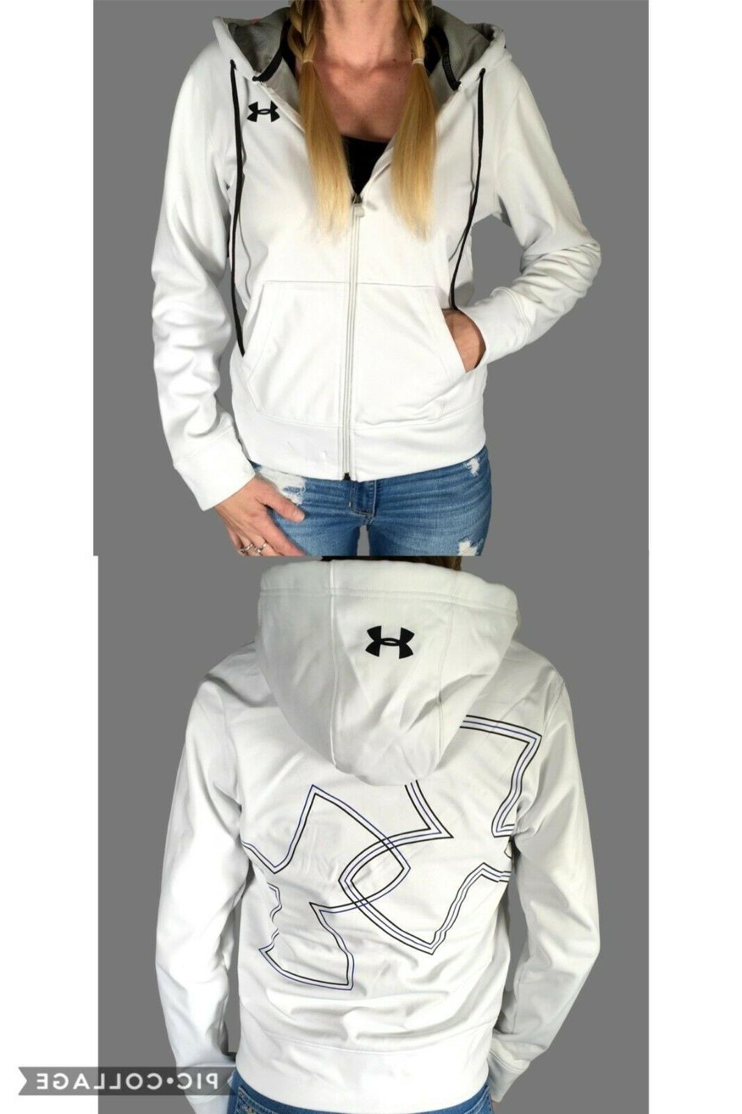 coldgear full zip fleece lined jacket logo
