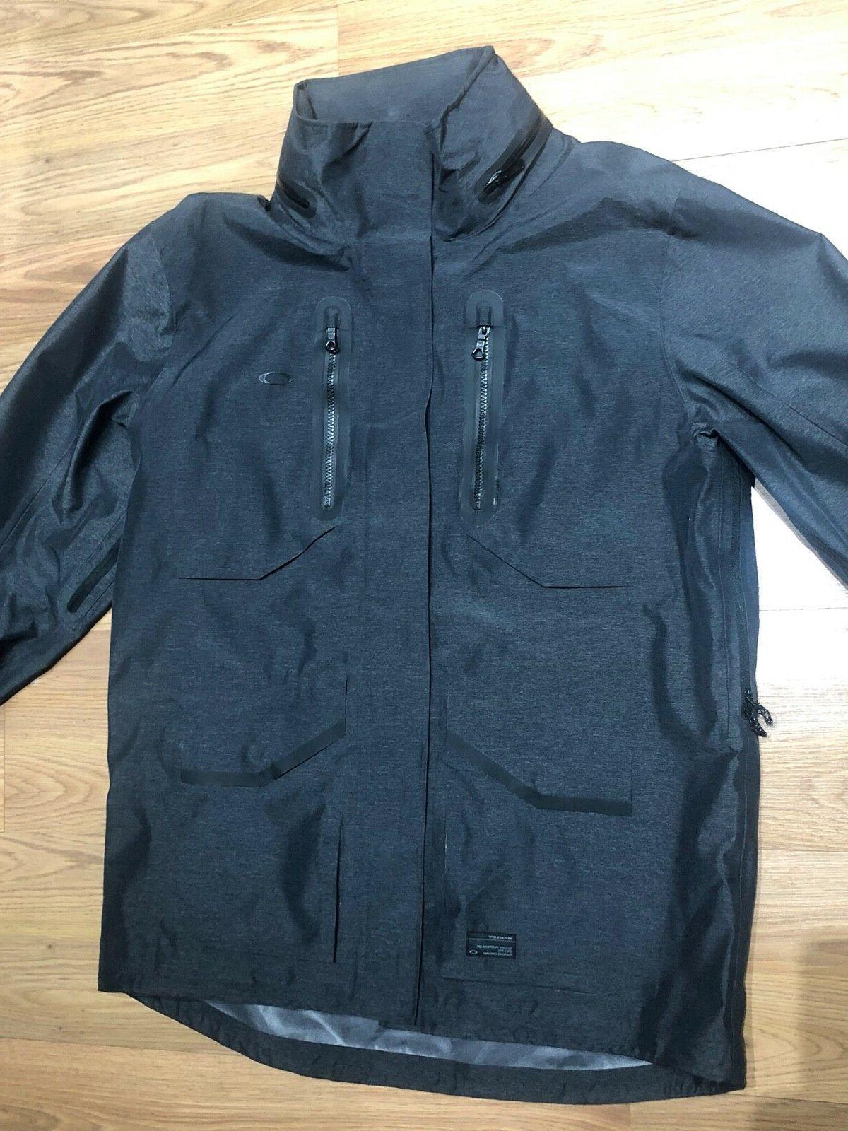 Oakley Crown Jacket Men's Size L Hooded Ski MSRP