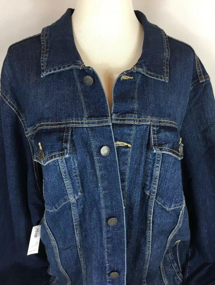 Old Denim Jackets Plus Size 2X, 3X, - NEW!