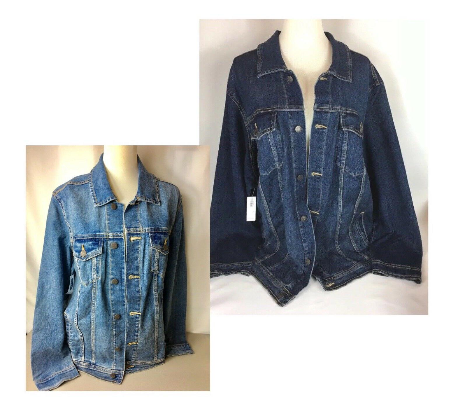 denim jackets plus size 1x 2x 3x