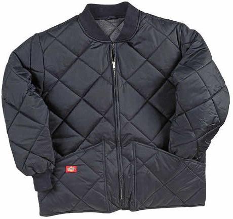 Dickies Men's Diamond Quilted Water Jacket, Navy,