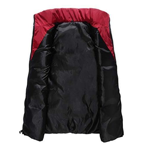 EBRICKON Down Puffer Women Zipper Lightweight Jacket
