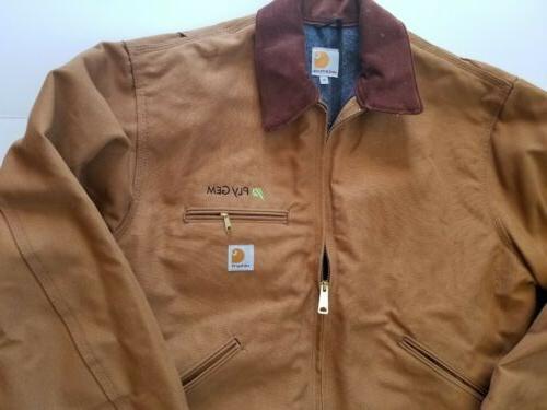 Carhartt J001 Detroit Blanket Jacket Sz Made in
