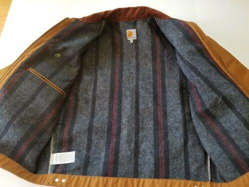 Carhartt Detroit Jacket Sz in USA