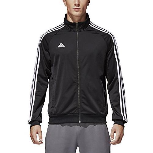 adidas Tricot Jacket, Black/White, Large