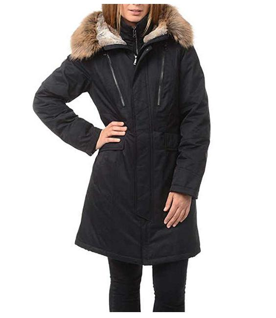 1 Madison Expedition Faux Hooded Jacket, XL No