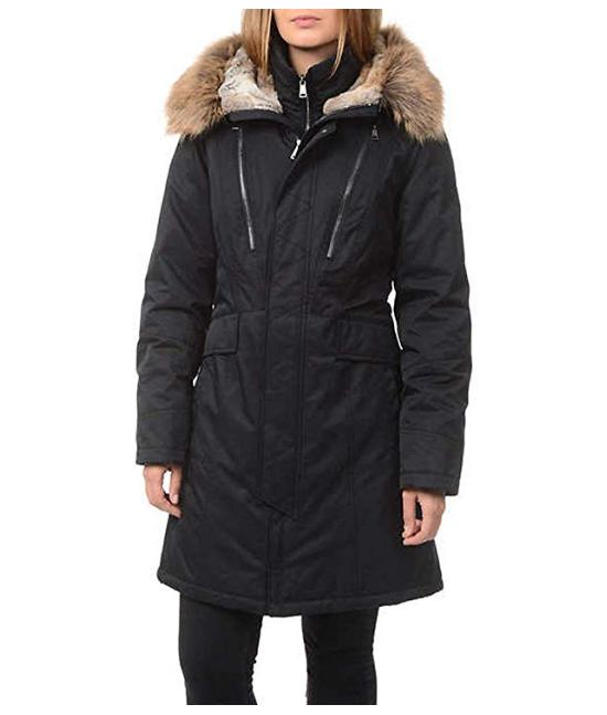 expedition women s faux fur hooded parka