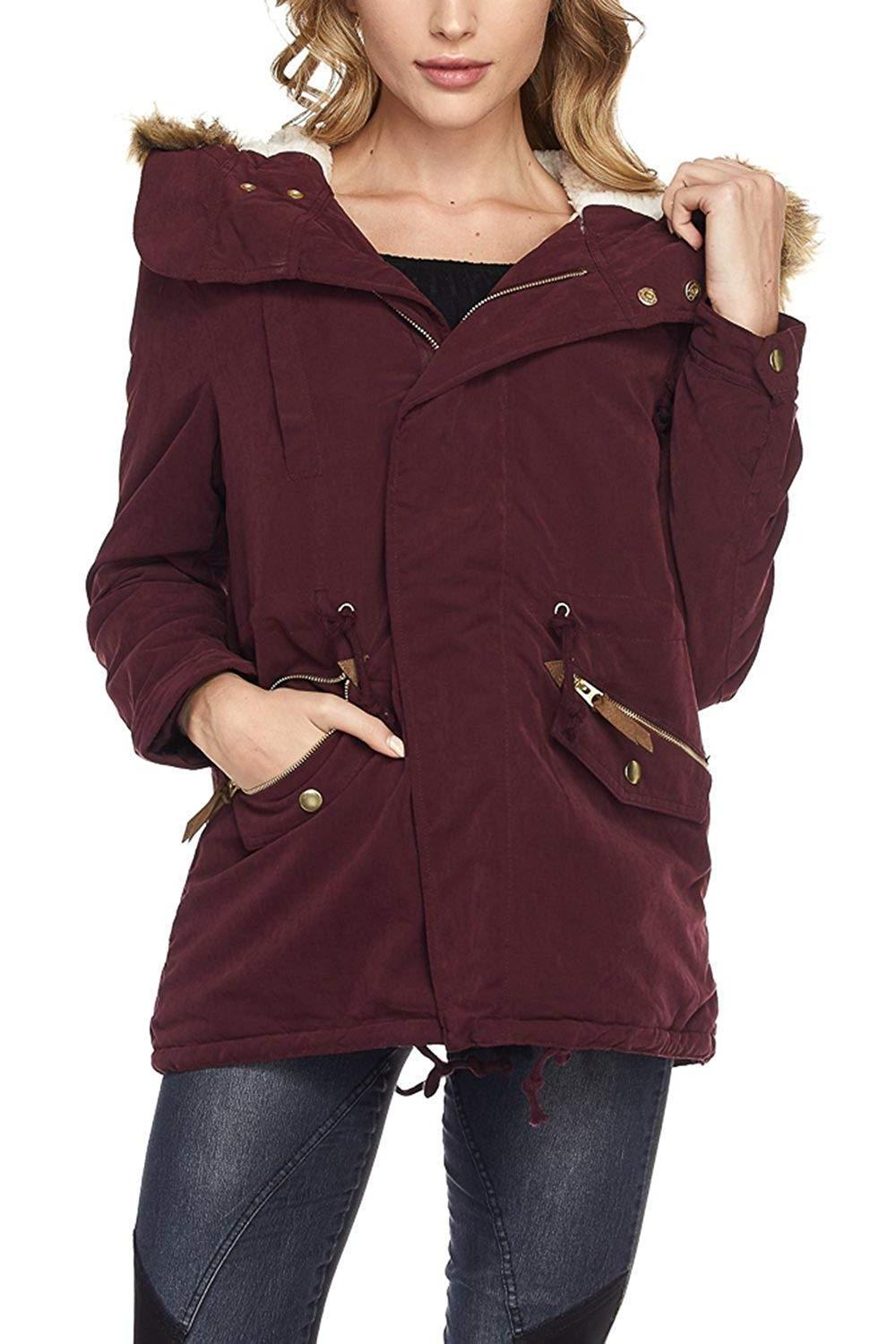 FASHION Up Anorak Jacket