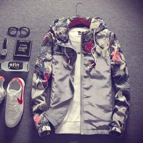 Fashion Thin Hooded Jacket Breaker Tops