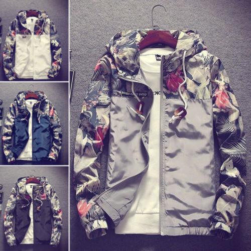 Fashion Thin Wind Breaker Loose Coat Tops
