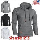 Fashion Men's Hoodie Warm Hooded Sweatshirt Outwear Coat Jac