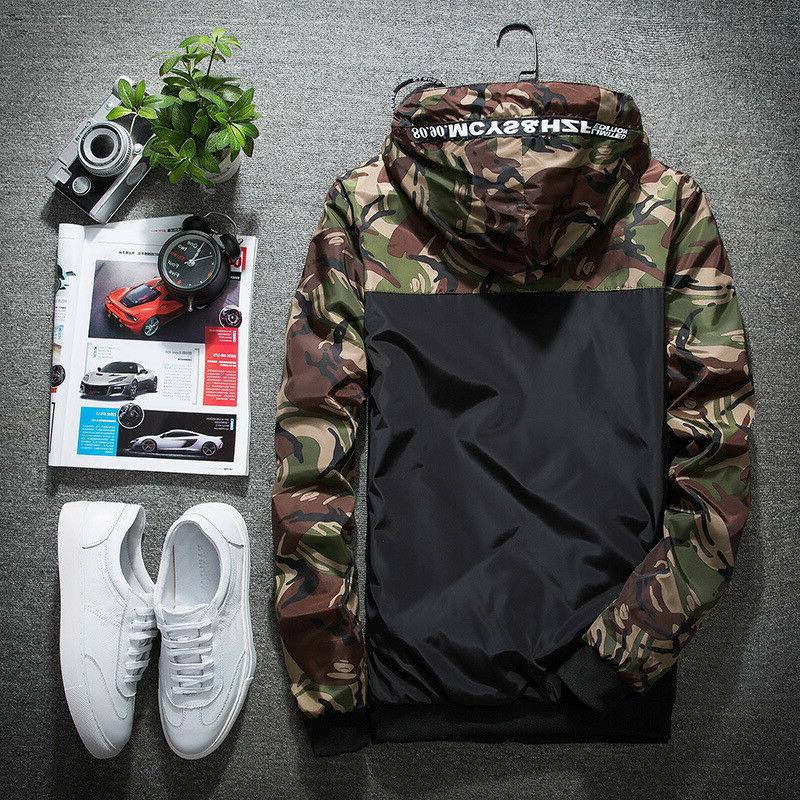 fashion men s sport loose coat tops