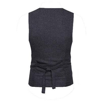 Fashion Suit Double-breasted Formal Waistcoat