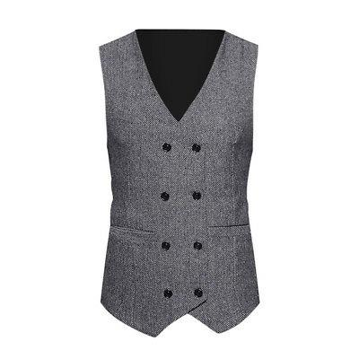 Fashion Mens Suit Double-breasted Formal