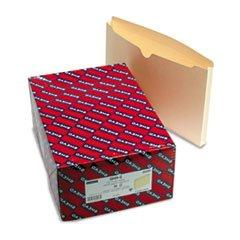 """** File Jackets, 2-Ply Top, 1"""" Accordion Expansion, Legal, 1"""