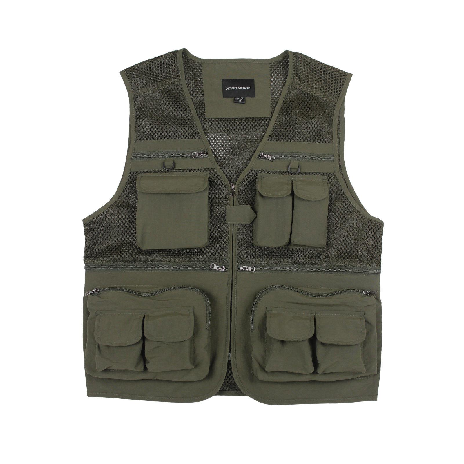 Mororock Vest 16 Pockets Photography Quick Dry