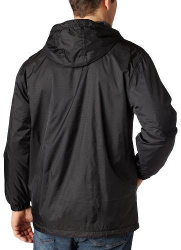 Dickies Fleece-Lined Hooded Nylon Jacket