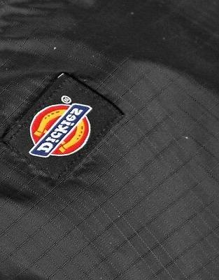 DICKIES LINED HOODED NYLON ZIPPER UP