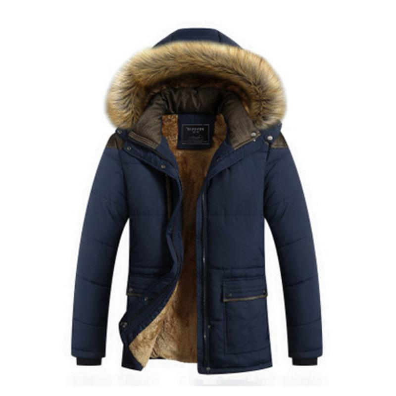<font><b>Men</b></font> Coat Parka Male Patchwork Stand <font><b>Jackets</b></font> Pockets Casual Coat <font><b>Men</b></font> Plus Size