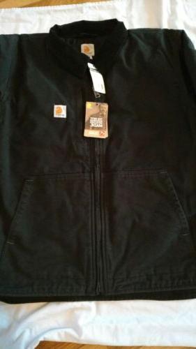 Carhartt Swing Armstrong Jacket Fleece Lined Sz