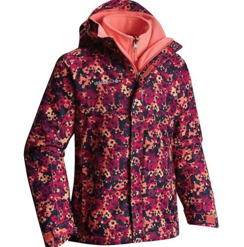 girls arctic trip ii interchange jacket xs