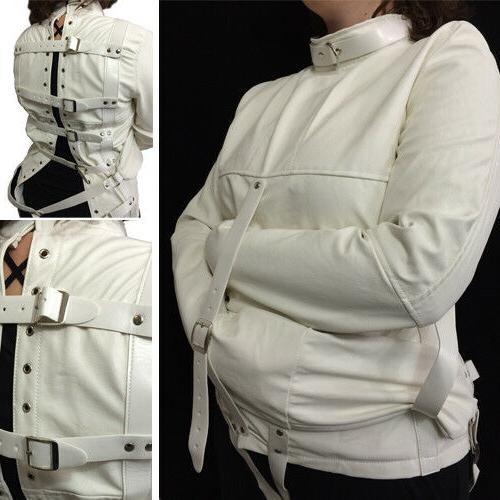 halloween costume straight jacket restraint costume cosplay