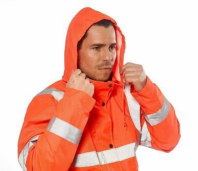 Portwest Orange Coat Waterproof ANSI