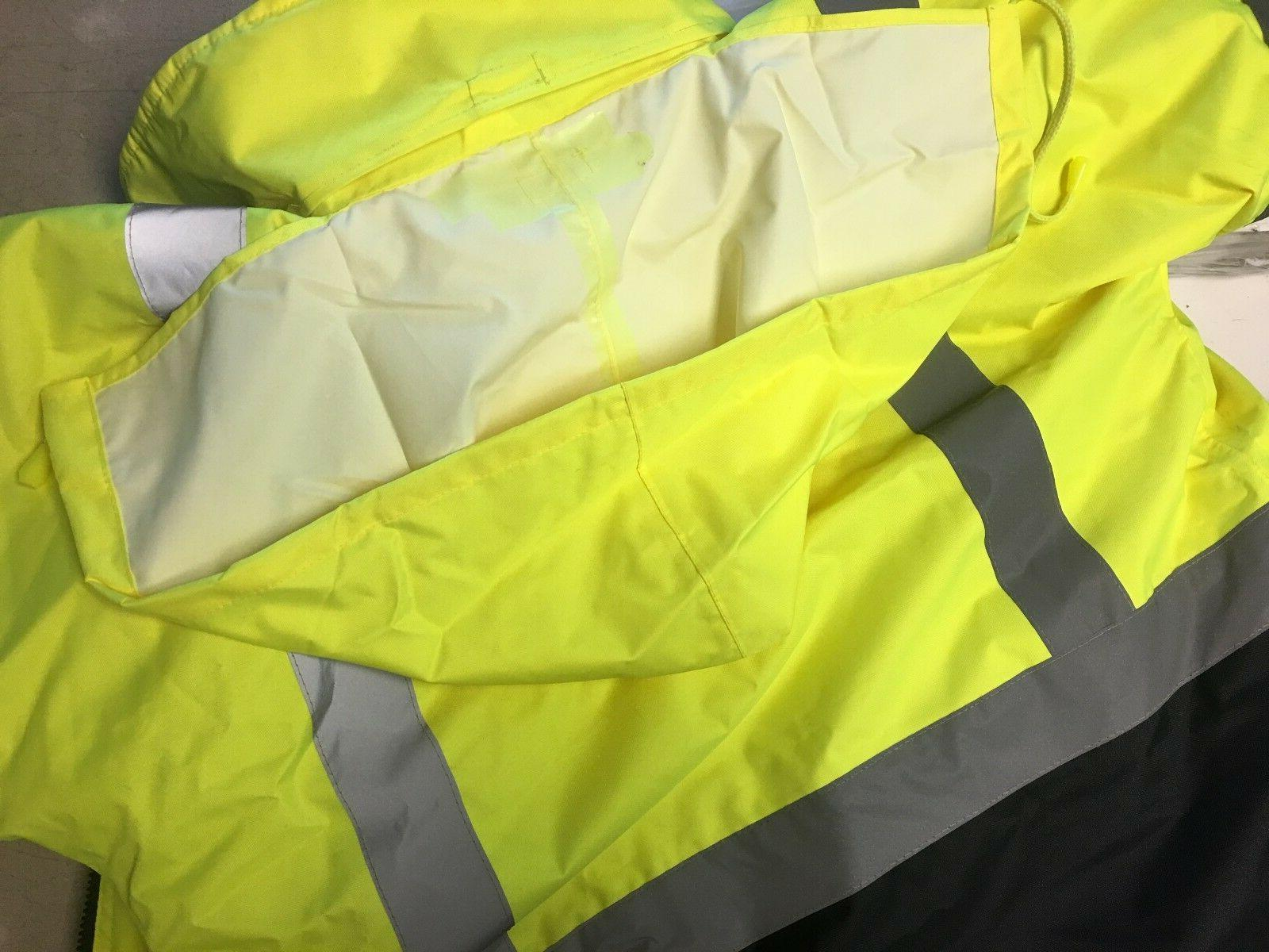 Hi Safety Bomber Work HIGH VISIBILITY