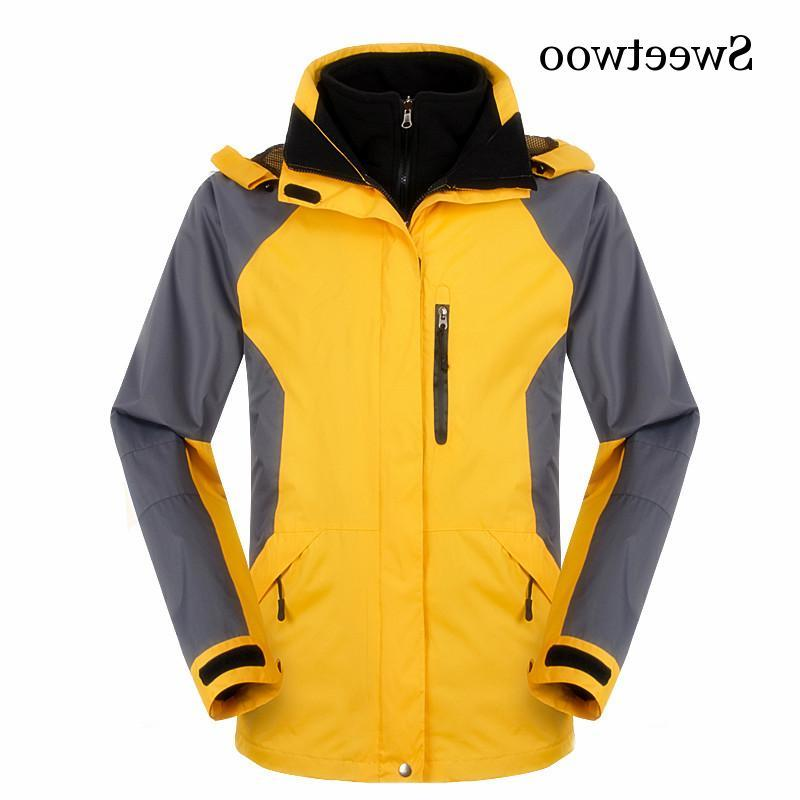 High Winter <font><b>In</b></font> Outdoor <font><b>Jacket</b></font> Waterproof Windbreaker Hiking Climbing