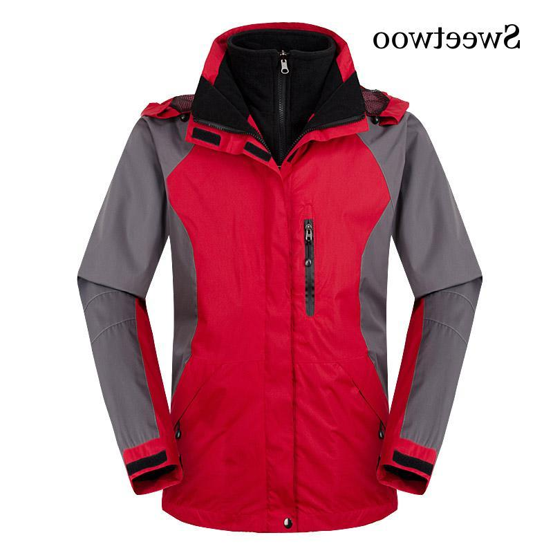 High Winter <font><b>In</b></font> Soft Shell Outdoor Thermal Windbreaker Outdoor Trekking