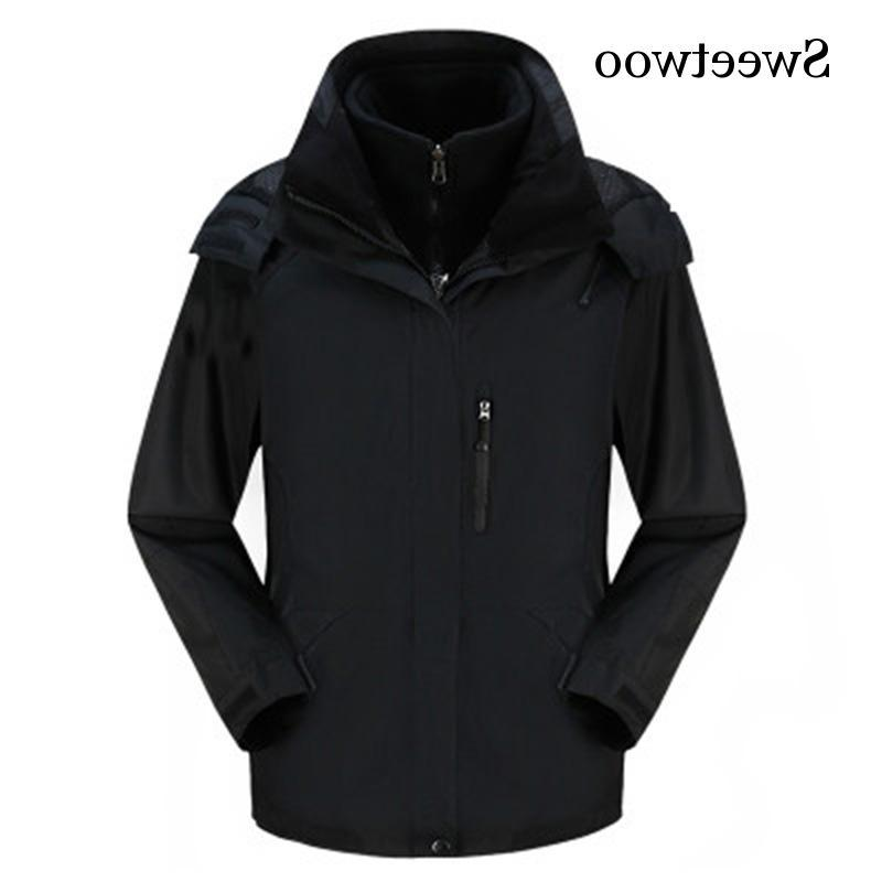 High Quality <font><b>In</b></font> <font><b>1</b></font> Soft Outdoor Waterproof Windbreaker Trekking