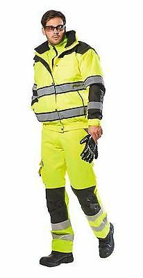 Portwest Hi-Vis Classic Bomber Jacket With &