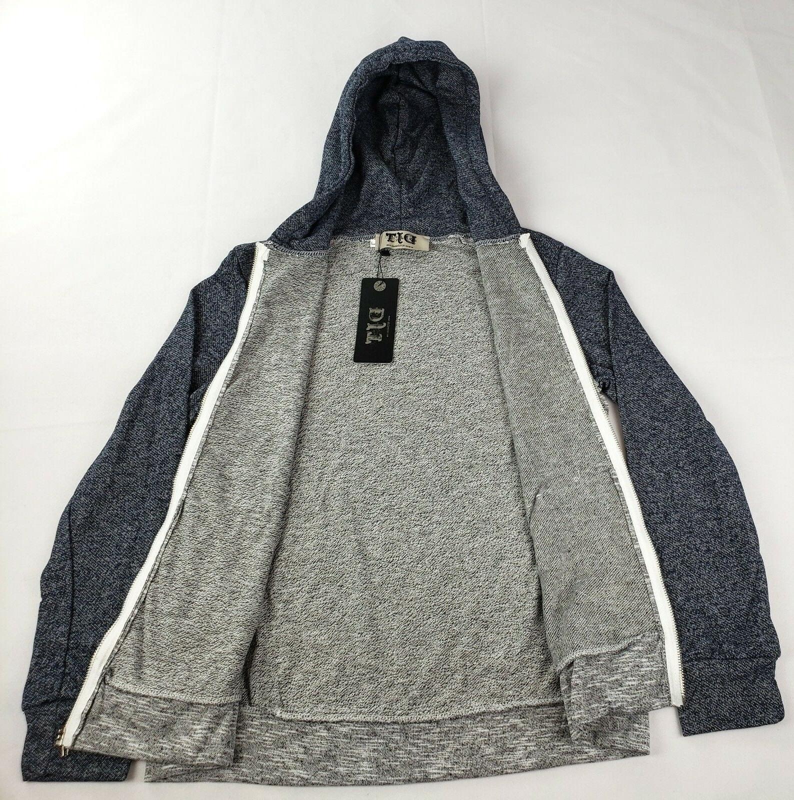 Hoodie Zip-up Sweatshirt Hoodie Large