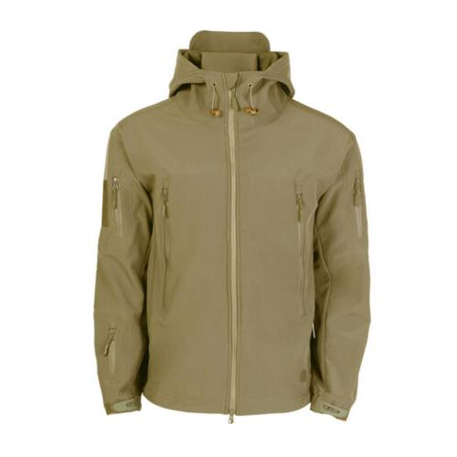 Hot TAD Softshell Tactical Jacket Men Army