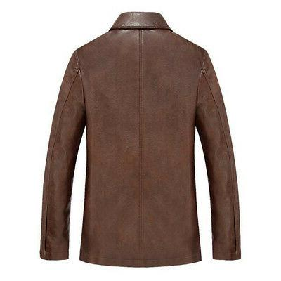 HOT Winter Mens Warm Real Thick Trench Overcoat