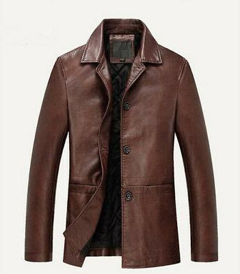 HOT Mens Real Thick Overcoat